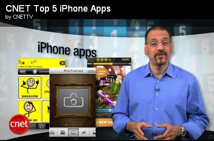CNET Top5 Apps
