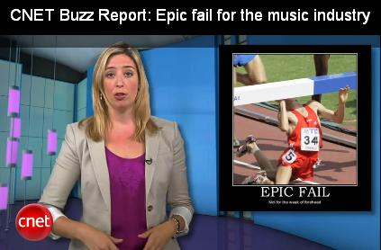 CNET buzz report Epic Fail