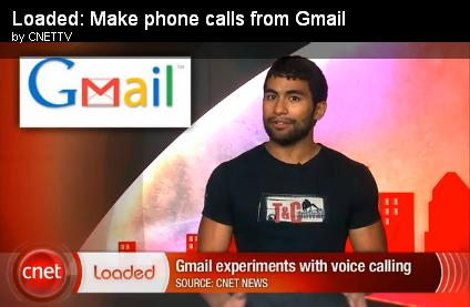 Loaded make phone calls from GMail