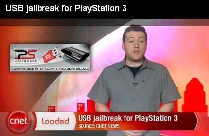USB JailBreak for PlayStation3