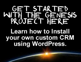 Get started with the Genesis CRM Project