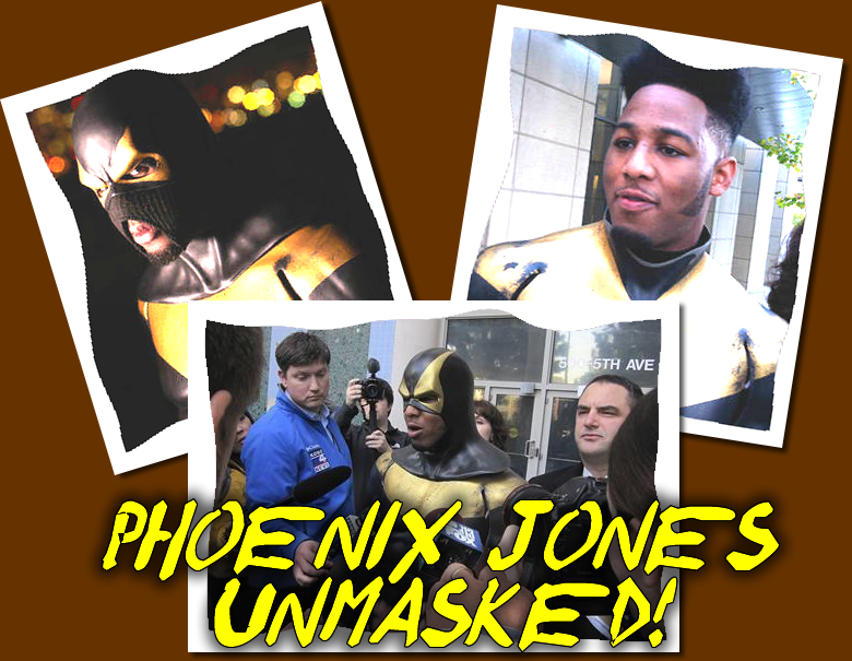 Phoenix Jones Unmasked