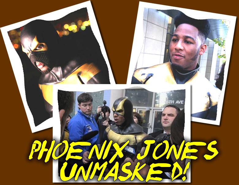 Phoenix Jones Unmasked